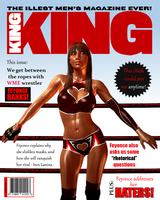 Feyonce Banks KING magazine cover by Terry-P