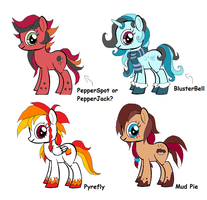 My Little Pony OCs.. Base by Starimo