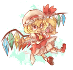 A game character a day 005-Flandre Scarlet by Sony-Shock