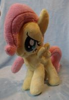 Filly Fluttershy Plushie:SOLD: by AppleDew