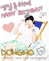 Happy Birhday Shin Dongho by mystygirl08