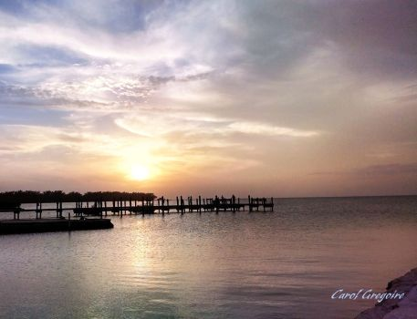 Islamorada Sunset 4 by carolgregoire