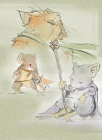 Oo Mouse Guard oO by Garlan