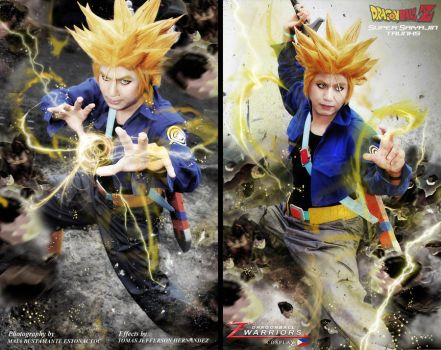 Dragonball Z Trunks Cosplay by jeffbedash325