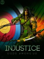 INjustice Green Arrow by NHKkyo