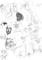Sketches1 by X-babe