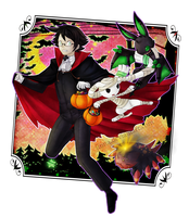 Tricking and Treating by Jinna