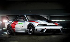 Time Attack Mitsubishi Eclipse by EvolveKonceptz