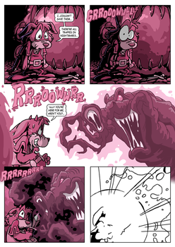 Rufus' Bad Dream Page 75 by E-122-Psi