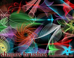 Shapes Brushes by roula33