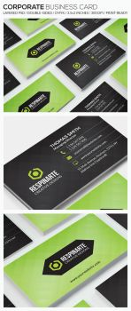 Corporate Business Card - RA73 by respinarte
