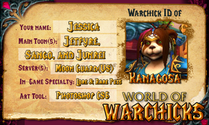World of Warchicks ID Featuring Sango by Kanagosa