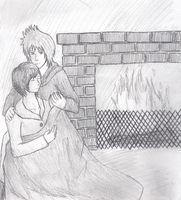 Roxas and Xion - Warmth by Aroselia