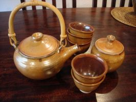 Tea Set by Zumaskimmer