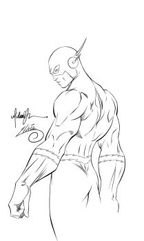 The Flash Ink #1 Updated by SWAVE18