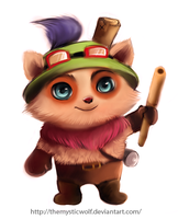 Teemo by TheMysticWolf