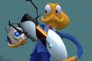 Octodad is thinking with portals by nitrodex1