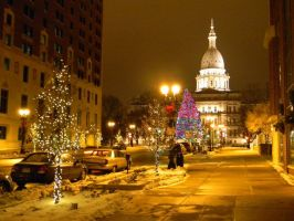 Christmas in Lansing by EndOfGreatness