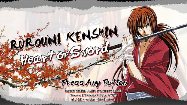 Rurouni Kenshin : Heart of Sword by Zinesis