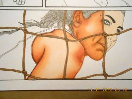 Hope Solo Copic Markers WIP 1 by LCMorganTDA