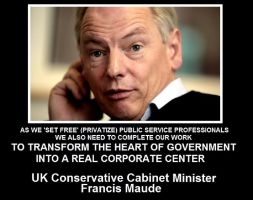 Oligary at the Heart of Government - Francis Maude by Valendale