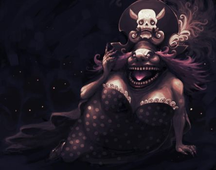 CHARLOTTE LINLIN // BIG MOM by awfulowafalo