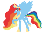 Princess Rainbow Dash by BananaOwlArtist