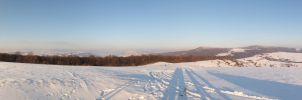 Winter view . by Goppo713
