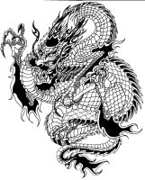Chinese Dragon by Eviecats