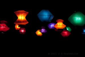 Paper Lanterns by jdrainville