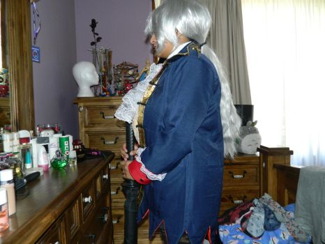 Fem!Prussia cosplay 3 by kimix469