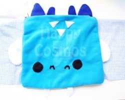 Icy Blue Dragon Bag by CosmiCosmos