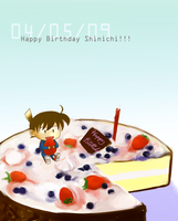 Shinichi Birthday 2009 by Kirite