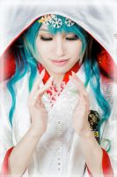 Yuki Miku 2013 ver._VOCALOID by AMPLE-COSPLAY