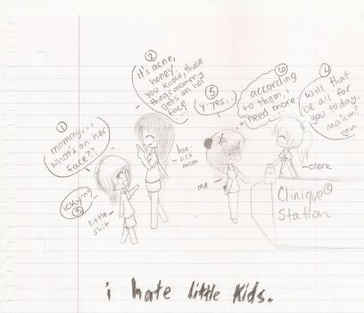 I HATE KIDS. by OrangeFusion