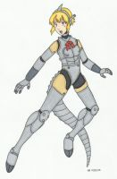 Commission: Aigis Kiryu by cqmorrell