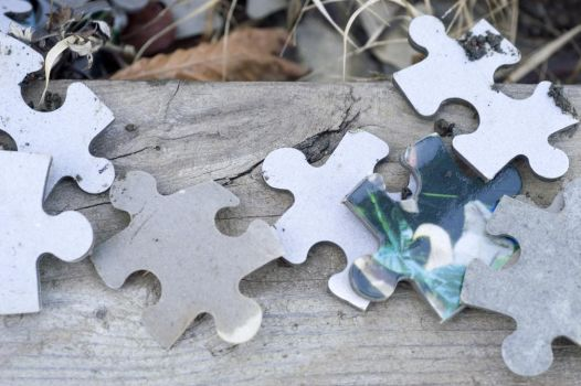 Puzzle Pieces by nighty-stock