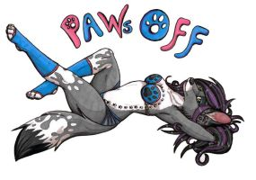 Paws Off by wolfen89