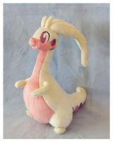 Shiny Goodra Plushie :Commission: by AppleDew
