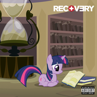 Eminem - Recovery - Cover 2 (Twilight Sparkle) by AdrianImpalaMata