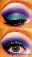 Green and purple! :) by GlitterGirlC