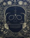 Day of the Dead Skull II by STiX2000