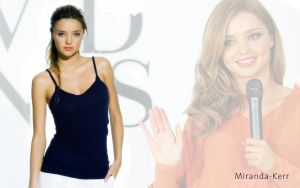 Miranda Kerr wallpaper by alubb77