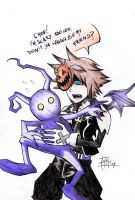 Scary Sora by TakuSalvemini
