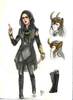 Female Loki dress by palitapare