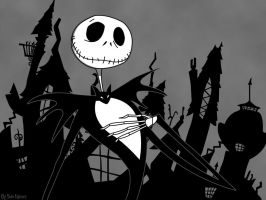 Jack Skellington by RavensRose