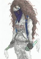 Merida the Anarcho Punk by EnzoLuciano93