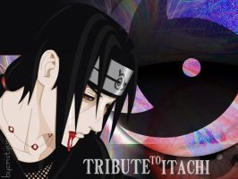 tribute to uchiha itachi by cristijung