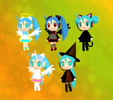 The Halloween project by Aira-Melody