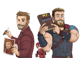 Marvel Marketing by pencilHead7